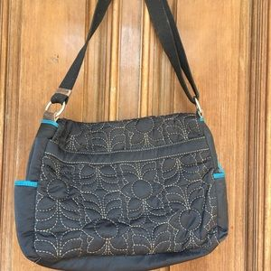 Fossil Bags - NWOT Keyper Quilted Nylon Messenger Bag by Fossil